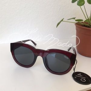 Quay If Only Sunglasses NWT